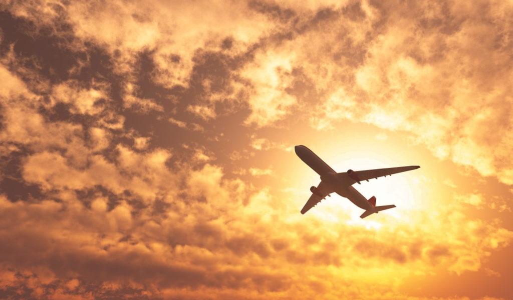 Primer viaje en avión